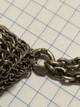 Театральная дамская сумочка кальчужка серебро 84 проба 319 грамм, фото №9