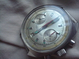 Штурманские Полет Хронограф Shturmanskie Poljot Chronograph часы на ходу