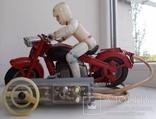 Мотоцикл на управлении СССР photo 1