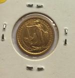 10 фунтов 1987 год АНГЛИЯ золото 3,39 грамм 917`