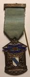 Масонский знак Управляющего RMBI, 1921г, серебро