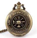 Карманные часы для пожарного (спасателя)