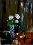 """Авторская картина """" Три розы"""" 40х30 Гудь Е"""