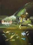 Дмитро Кавсан 'Water' 2008 холст/ акрил/ масло 80 х 60 cm