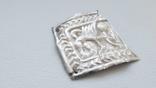 Нашивка срібна , Скіфської доби