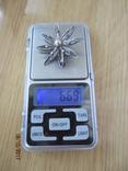 Винтажный брошь серебро филигрань photo 6