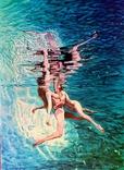 """Картина """" under water """" 55*40 см"""