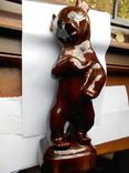 Медведь фарфоровый 1968 г.