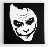 Джокер Картина Холст-акрил 50х50 подрамник