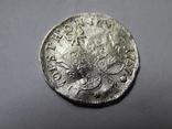 Монета 4 ливонеза 1757 г.