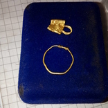 Ароматница+височное кольцо ЧК (Аu)