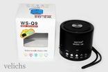 Портативная bluetooth колонка MP3 FM WS-Q9 photo 6