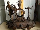 Часы каминные 19 век (корпус)..шпиатр..Франция.