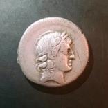 Республиканский денарий L. Censorinus Rome, 82 BC.