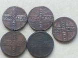 5монет з 1725 по 1730 photo 1
