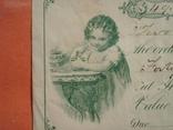 США чек 1877 год на 49,50$ девочка