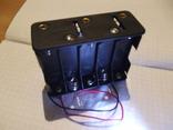 Холдер под 10 аккумуляторов АА