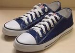 0081 Кеды Converse All Star темно синие, 44 размер 28 см стелька