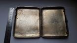 Портсигар серебро 84 проба, фото №8