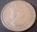 10 центів. 1957 року Малайя і Британське Борнео, фото №3