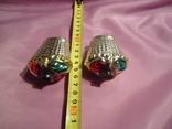 Старинные игрушки корзинки с ягодами в сохране, фото №5