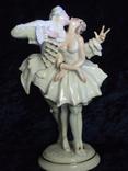 Фарфоровая статуэтка Поцелуй