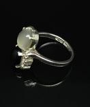 Набор из кольца, серег и кулона с камнями photo 2