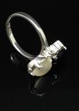 Набор из кольца, серег и кулона с камнями, фото №7
