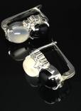 Набор из кольца, серег и кулона с камнями photo 10