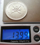 Мускат&Оман, 1/2 омани реала 1381, фото №5