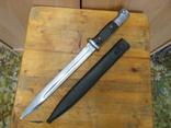 Немецкий штык-нож с ножнами.