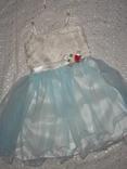Нарядное платье на девочку 4г