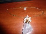 Ожерелье с *диким* розовым кварцем photo 2