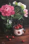 Цветы в банке photo 1