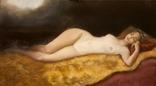 Ню художник Серый И. размер 60 на 80 см.