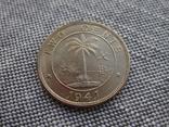 Либерия 2 цента 1941 Слон