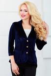 (1024) Пиджак нарядный с удлиненной спинкой