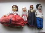 Старинные куклы 4 шт