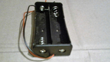 Холдер под два аккумулятора 18650