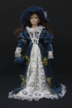 Кукла фарфоровая с набивным мягким туловищем