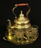 Чайный сервиз на 6 персон. 4.77 кг. Чайник SUS 1,75 л. Германия. (0343)