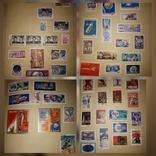 Альбом с марками СССР и других стран 630шт photo 2