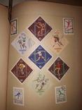 Альбом с марками СССР и других стран 630шт photo 8
