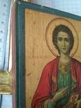 Св.Пантелеймон.Благославление св.Афонской горы,Пантелеймонова монастыря,где и она освящена, фото №8