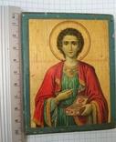 Св.Пантелеймон.Благославление св.Афонской горы,Пантелеймонова монастыря,где и она освящена, фото №9
