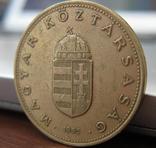 Венгрия 100 форинтов 1995, фото №3