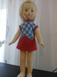 Кукла СССР , паричковая, клеймо