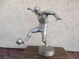 Футболист.авторская работа.силумин photo 2