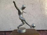Футболист.авторская работа.силумин photo 4