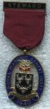 Масонская награда STEWARD RMIB 1940 Серебро Эмаль